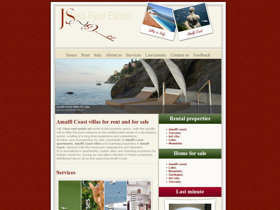 js amalfi coast villas