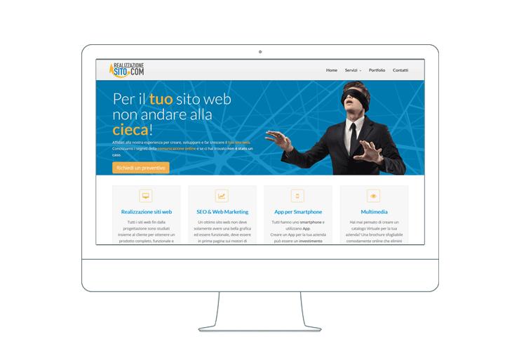 Realizzazione siti web, posizionamento siti web su motori